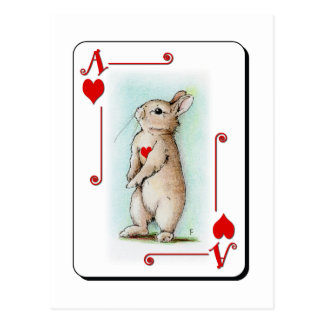 Ace of Hearts Postcard