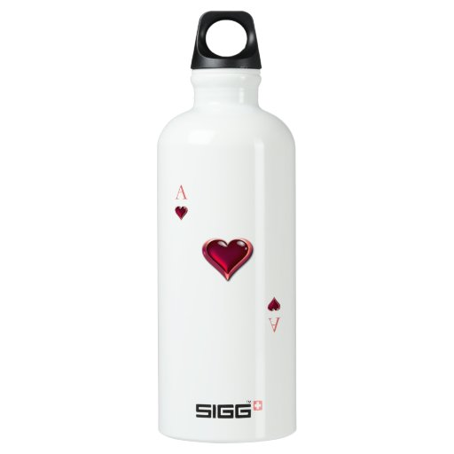 Ace of Hearts SIGG Traveler 0.6L Water Bottle