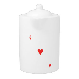 Ace of Hearts Teapot