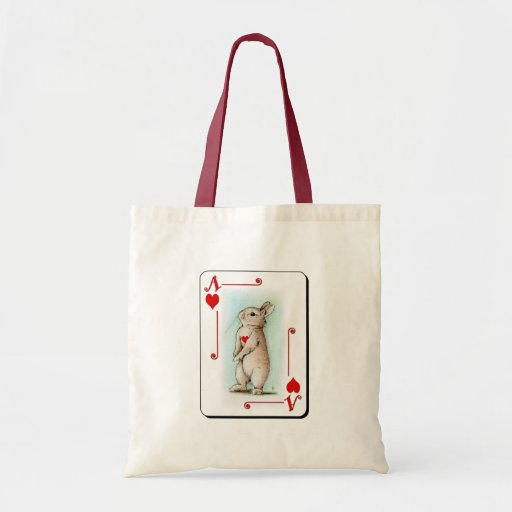 Ace of Hearts Tote Bags