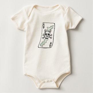 Ace of Skulls Baby Bodysuit