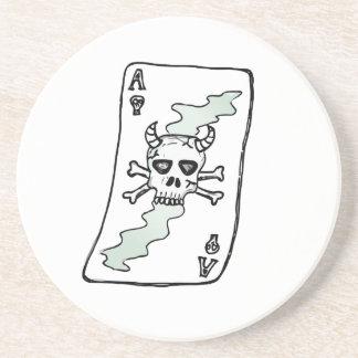 ace of skulls coaster