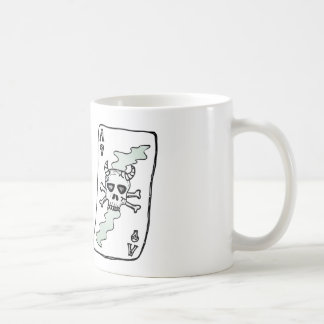 ace of skulls coffee mug