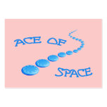 Ace of Space Frisbee Business Card