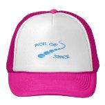 Ace of Space Frisbee Trucker Hats