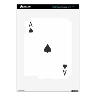 Ace of Spade iPad 3 Decals