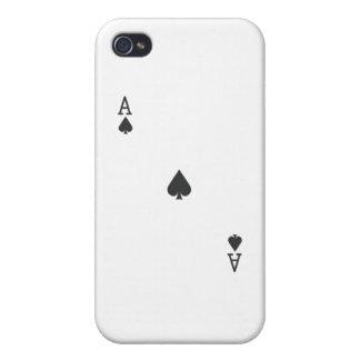 Ace of Spade iPhone 4/4S Case