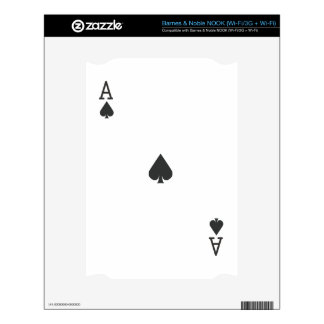 Ace of Spade Decals For NOOK