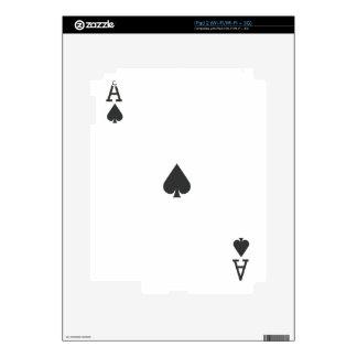 Ace of Spade iPad 2 Decal