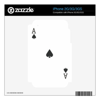 Ace of Spade Skin For The iPhone 3GS