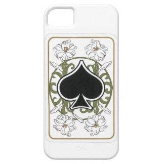 Ace of Spades Art Nouveau-style iPhone SE/5/5s Case