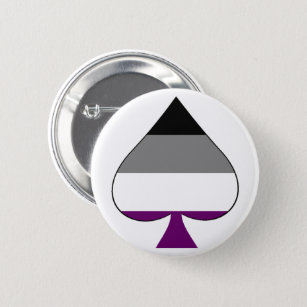Aromantic asexual ace of spades