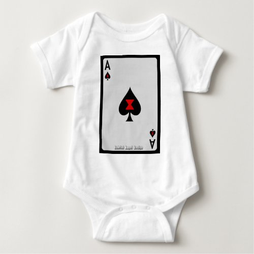 Ace of Spades Baby Bodysuit