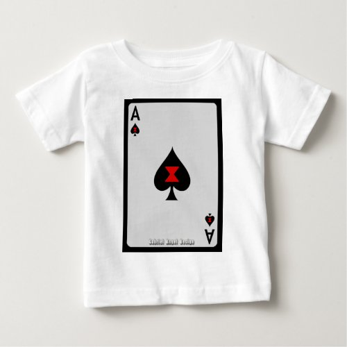 Ace of Spades Baby T_Shirt