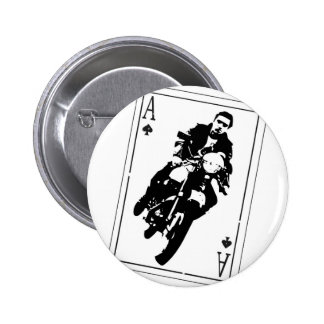Ace of Spades Cafe Racer Button