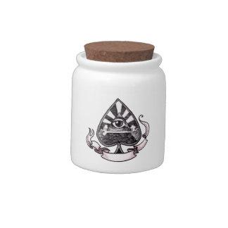 Ace of Spades Candy Jar