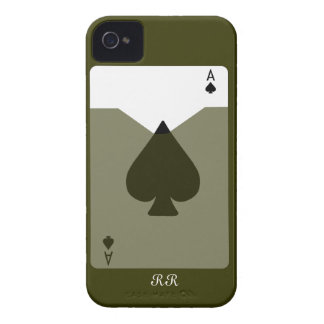 Ace Of Spades Case-Mate iPhone 4 Barely There iPhone 4 Case-Mate Cases