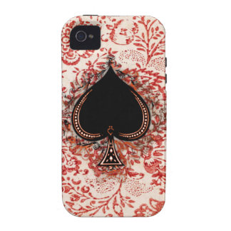 Ace of Spades Case-Mate iPhone 4 Case