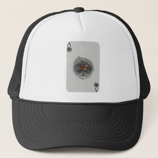 Ace of Spades Chicken Hat