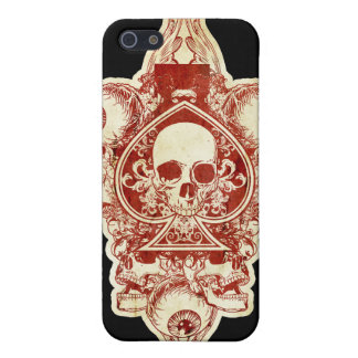 Ace of spades cover for iPhone SE/5/5s