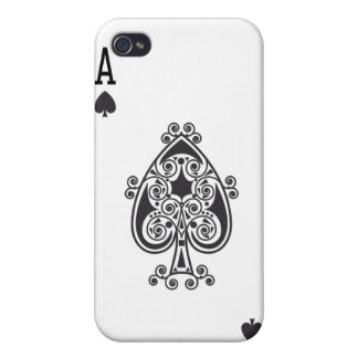 Ace of spades covers for iPhone 4