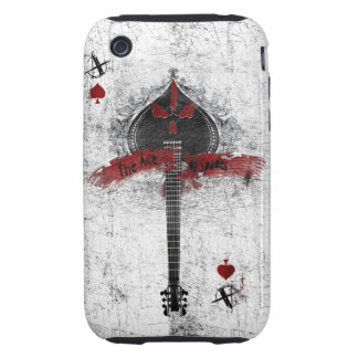 ace of spades custom ipod case iPhone 3 tough covers