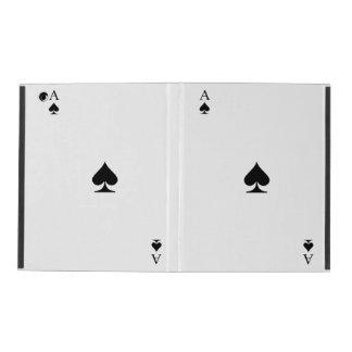 Ace of Spades iPad Case