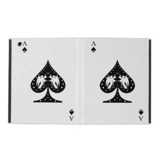 Ace of Spades iPad Folio Case