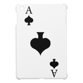 Ace of Spades Cover For The iPad Mini