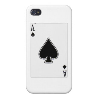 ace of spades iPhone 4/4S case