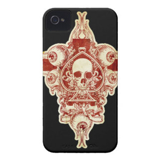 Ace of spades iPhone 4 case