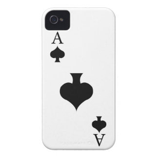 Ace of Spades iPhone 4 Case-Mate Cases