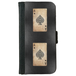Ace of Spades iPhone 6/6s Wallet Case