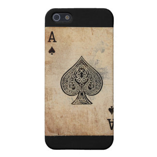 ace of spades iPhone SE/5/5s cover