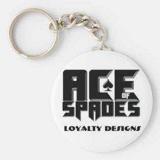 ACE OF SPADES KEYCHAIN