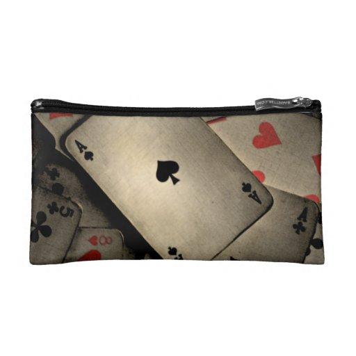Ace of Spades Makeup Bag