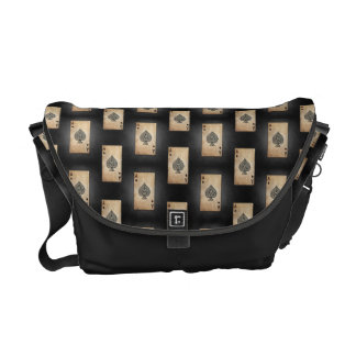 Ace of Spades Messenger Bag