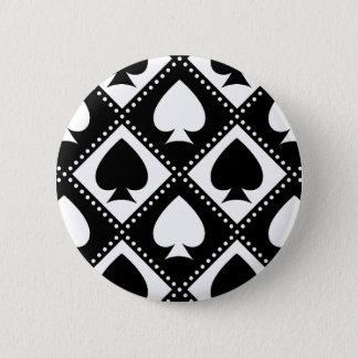 Ace of Spades Motif Button