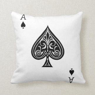 Ace of Spades Pillow
