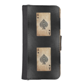 Ace of Spades iPhone 5 Wallet