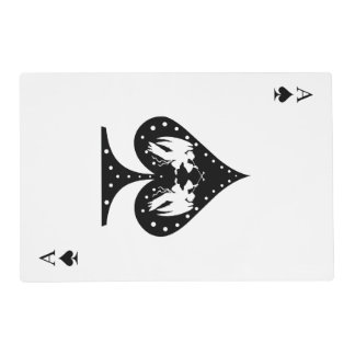 Ace of Spades Placemat