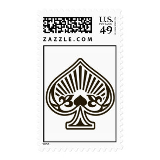 Ace of Spades Stamps