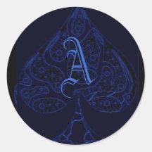 ace of spades sticker