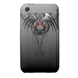 ace of spades tribal design iPhone 3 cover