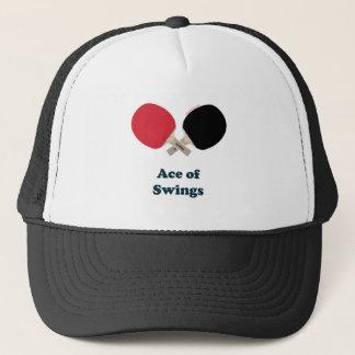 Ace of Swings Ping Pong Trucker Hat