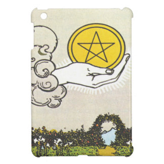 Ace Pentacles Fortune Teller Tarot Card iPad Mini Cases