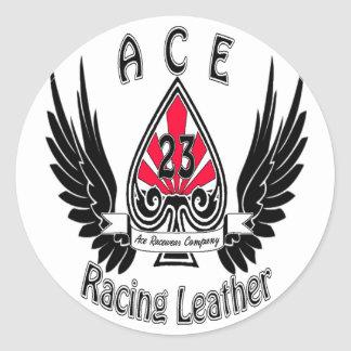 Ace Racing Leather Stickers