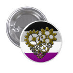 Ace Robot Pride - Tiny Pinback Buttons
