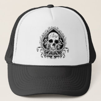 Ace Skull Trucker Hat