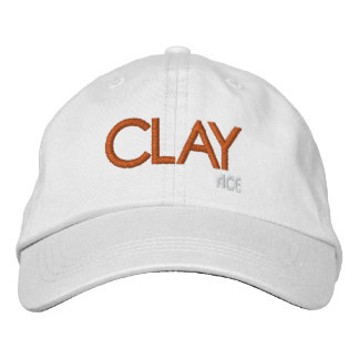 ACE Tennis CLAY Court Embroidered Hats
